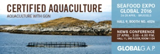 """Aquaculture with GGN"" – GLOBALG.A.P. Introduces Its Consumer Label for Fish and Seafood from Certified Aquaculture"