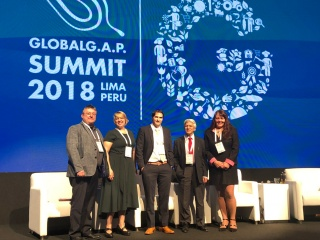 Naturipe's Director of Food Safety and Social Responsibility at GLOBALG.A.P. SUMMIT 2018