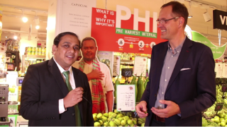 Bangladesh Supermarket Leader Shwapno at GLOBALG.A.P. SUMMIT in Peru